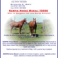 Kewpie 10000 Horse Muesli